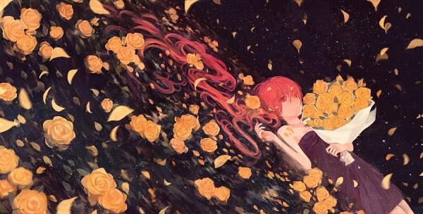 Tags: Anime, 72 (72desuyo), VOCALOID, Nekomura Iroha, Fanart, Pixiv, Facebook Cover