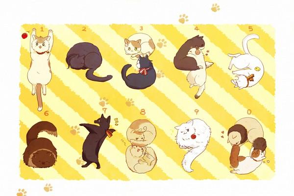 Tags: Anime, Pixiv Id 1176730, Axis Powers: Hetalia, Americat, Germancat, South Italy Cat, Japancat, Chinacat, Hungarycat, Gilbird, Francecat, Russiacat, Austriacat