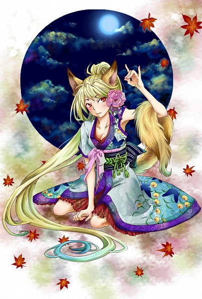 Tags: Anime, Nekozuki Yuki, Fox Spirit, Pixiv