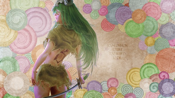 Tags: Anime, BLEACH, Neliel Tu Oderschvank, HD Wallpaper, Wallpaper, Arrancar, Espada
