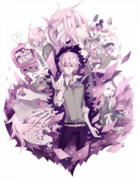 Tags: Anime, Ryuuguu Tsukasa, VOCALOID, VY2, Love Letter, Writing, Fanart, Nenchakukei Danshi no 15-nen Nechinechi, Pixiv