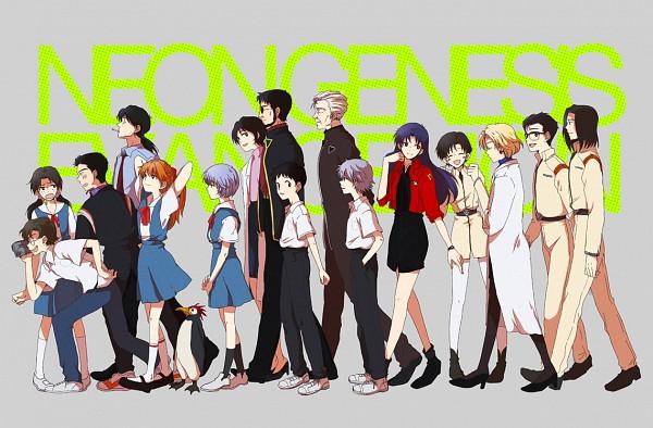Tags: Anime, Moha, Neon Genesis Evangelion, Aida Kensuke, Ayanami Rei, Ikari Gendou, Nagisa Kaworu, Ibuki Maya, Akagi Ritsuko, Souryuu Asuka Langley, Ikari Shinji, Hyuga Makoto, Kaji Ryoji