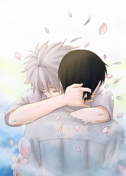 Tags: Anime, Pixiv Id 1153099, Neon Genesis Evangelion, Nagisa Kaworu, Ikari Shinji, Disappearing, Fanart, Pixiv, Mobile Wallpaper, KawoShin