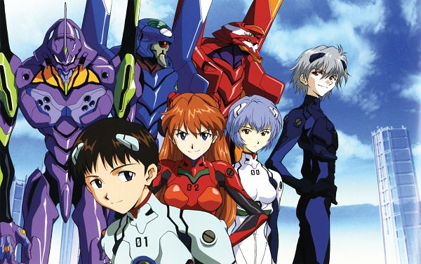 Tags: Anime, Neon Genesis Evangelion, Scan, Official Art