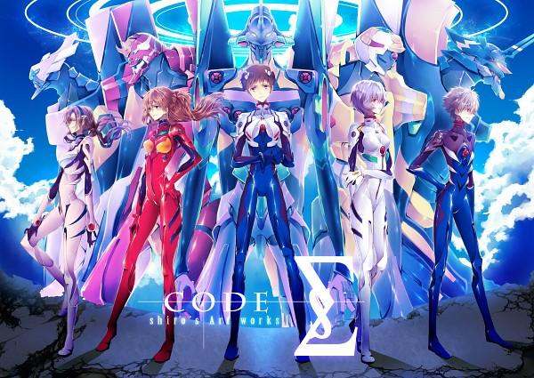 Tags: Anime, shiro (Pixiv8482558), Neon Genesis Evangelion, Eva 00, Ikari Shinji, Souryuu Asuka Langley, Ayanami Rei, Eva 01, Makinami Mari Illustrious, Eva 13, Eva 02, Nagisa Kaworu, Eva 08