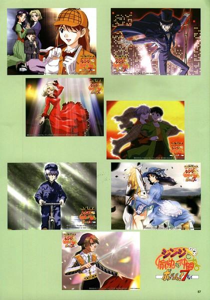 Tags: Anime, Gainax, Neon Genesis Evangelion, Souryuu Asuka Langley, Nagisa Kaworu, Ikari Shinji, Ikari Gendou, Katsuragi Misato, Akagi Ritsuko, Ayanami Rei, Kaji Ryoji, Movie Parody, Titanic (Parody)