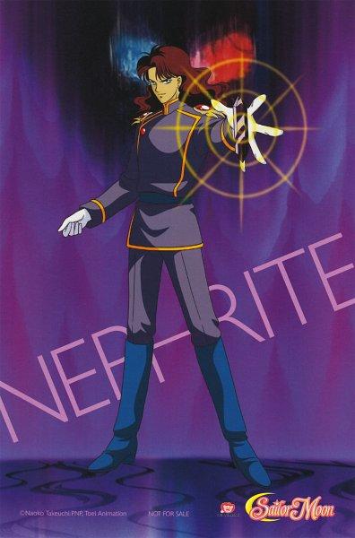 Tags: Anime, Toei Animation, Bishoujo Senshi Sailor Moon, Nephrite, Scan, Official Art