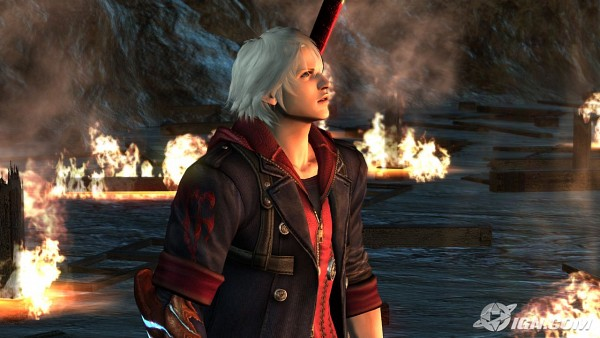 Tags: Anime, Devil May Cry, Nero (Devil May Cry), Screenshot, Wallpaper