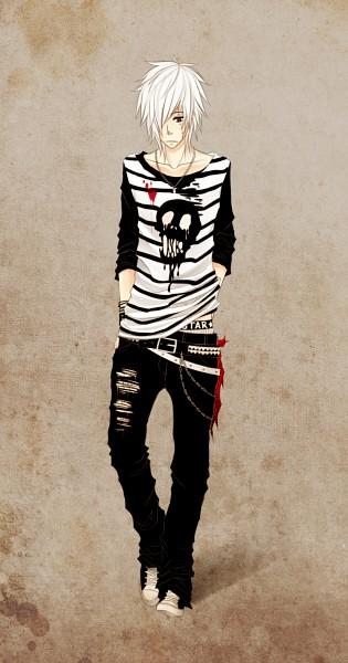 Tags: Anime, Naimane, Netami, Gothic Outfit, Punk, Original, PNG Conversion, deviantART