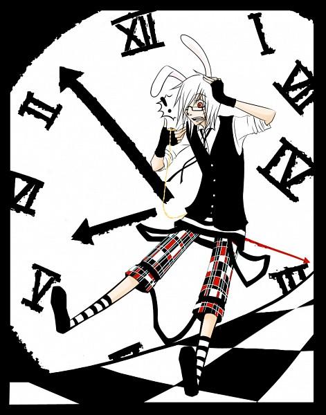 Tags: Anime, Naimane, Alice in Wonderland, Netami, White Rabbit, PNG Conversion, deviantART, Original