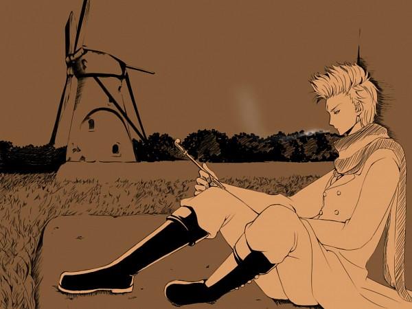 Tags: Anime, Pixiv Id 2471671, Axis Powers: Hetalia, Netherlands, History, Windmill, Tulip, Pixiv