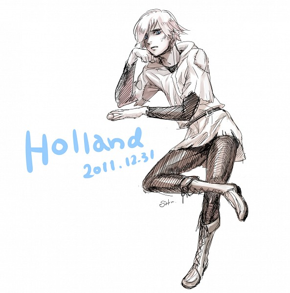 Tags: Anime, Pixiv Id 863424, Axis Powers: Hetalia, Netherlands, Sketch