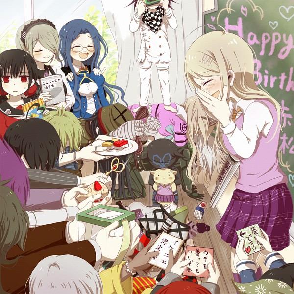 Tags: Anime, Pixiv Id 1201801, New Danganronpa V3, Saihara Shuuichi, Amami Rantarou, Ouma Kokichi, Iruma Miu, Yonaga Angie, Hoshi Ryouma, Kiibo (New Danganronpa V3), Momota Kaito, Gokuhara Gonta, Harukawa Maki, Danganronpa V3: Killing Harmony