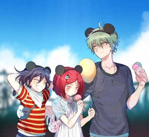 Tags: Anime, Pixiv Id 2312918, New Danganronpa V3, Monokuma, Yumeno Himiko, Amami Rantarou, Monomi (Super Danganronpa 2), Ouma Kokichi, Fanart From Pixiv, Pixiv, Fanart, Danganronpa V3: Killing Harmony