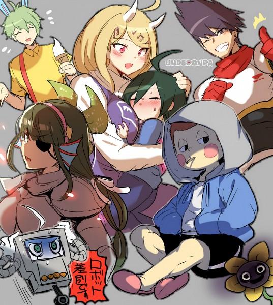 Tags: Anime, Pixiv Id 2145179, New Danganronpa V3, Ouma Kokichi, Amami Rantarou, Chabashira Tenko, Momota Kaito, Hoshi Ryouma, Akamatsu Kaede, Saihara Shuuichi, Kiibo (New Danganronpa V3), Papyrus (Cosplay), Undertale (Parody), Danganronpa V3: Killing Harmony