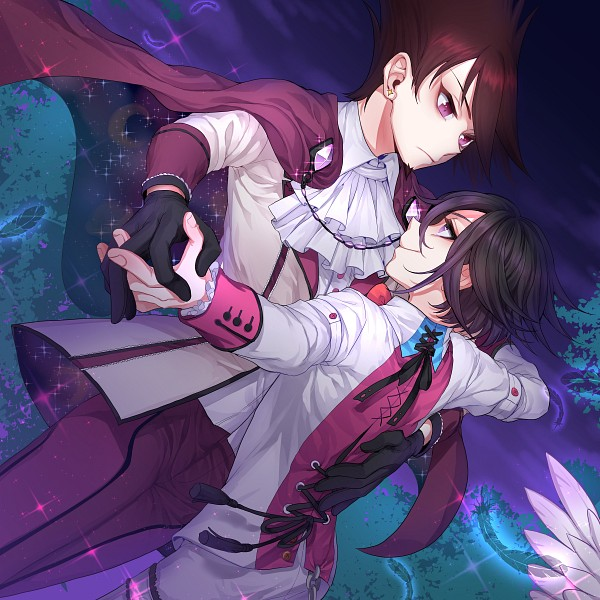 Tags: Anime, Pixiv Id 2734062, New Danganronpa V3, Ouma Kokichi, Momota Kaito, Purple Pants, Fanart From Pixiv, Pixiv, Fanart, Danganronpa V3: Killing Harmony