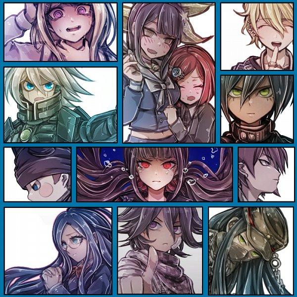 Tags: Anime, Riyuta, New Danganronpa V3, Amami Rantarou, Ouma Kokichi, Saihara Shuuichi, Momota Kaito, Chabashira Tenko, Kiibo (New Danganronpa V3), Akamatsu Kaede, Hoshi Ryouma, Harukawa Maki, Shirogane Tsumugi, Danganronpa V3: Killing Harmony