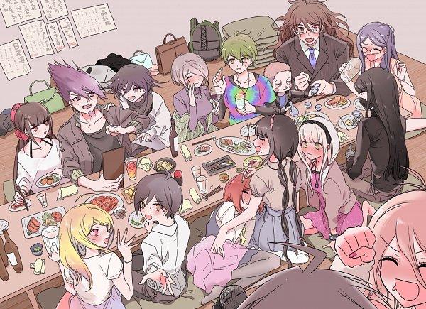 Tags: Anime, Pixiv Id 1398770, New Danganronpa V3, Saihara Shuuichi, Yonaga Angie, Hoshi Ryouma, Iruma Miu, Momota Kaito, Gokuhara Gonta, Harukawa Maki, Toujou Kirumi, Akamatsu Kaede, Shirogane Tsumugi, Danganronpa V3: Killing Harmony