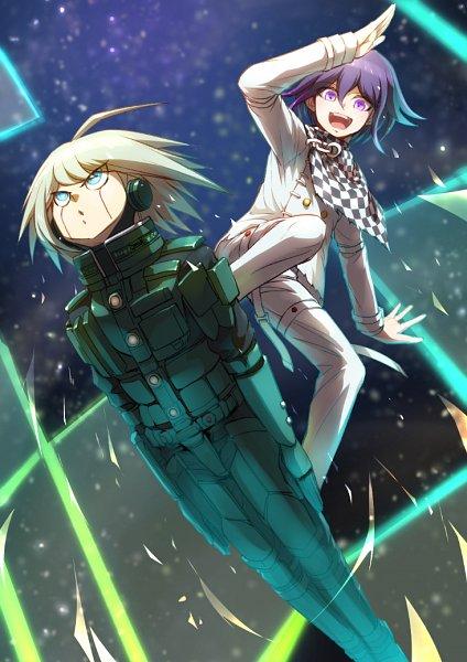 Tags: Anime, Pixiv Id 1608609, New Danganronpa V3, Ouma Kokichi, Kiibo (New Danganronpa V3), Danganronpa V3: Killing Harmony