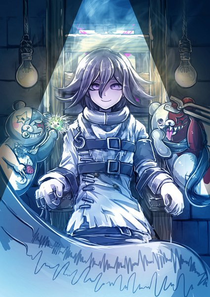 Tags: Anime, Isuckatthisdonti, New Danganronpa V3, Monokid (New Danganronpa V3), Monotarou (New Danganronpa V3), Ouma Kokichi, Danganronpa V3: Killing Harmony
