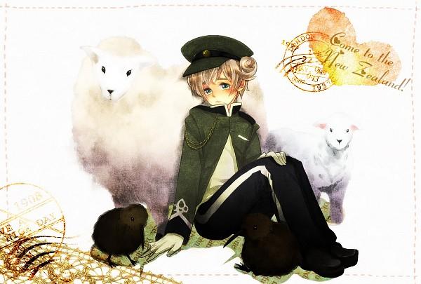 Tags: Anime, Pixiv Id 284076, Axis Powers: Hetalia, New Zealand, Kiwi (Bird), Pixiv, Fanart From Pixiv, Fanart, Oceania