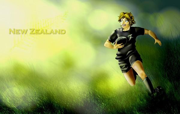 Tags: Anime, Axis Powers: Hetalia, New Zealand, Principality of Wy, Australia, Oceania