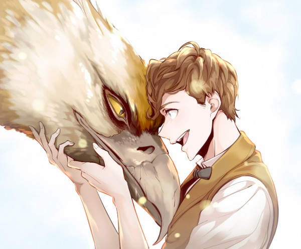 Newton Scamander - Fantastic Beasts and Where to Find Them