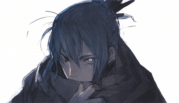 Tags: Anime, toi8, No.6, No.6 Toi8 Design & ArtWorks, Nezumi (No.6), Adjusting Scarf, Official Art, Scan, Wallpaper