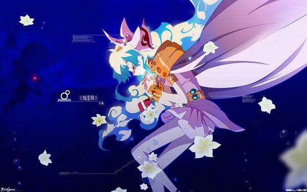 Tags: Anime, Tengen Toppa Gurren-Lagann, Nia Teppelin, Praying, 2560x1600 Wallpaper, Wallpaper, HD Wallpaper