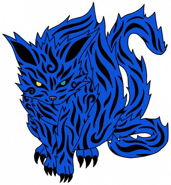 Nibi no Bakeneko (Two-tailed Monster Cat) - NARUTO ...