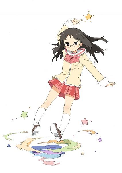 Tags: Anime, Newrein, Nichijou, Minakami Mai, Pixiv, Mobile Wallpaper, Fanart