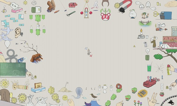 Tags: Anime, Nichijou, Finger, Green Tea, Elephant, Board, Sushi, Bulb, HD Wallpaper, Wallpaper