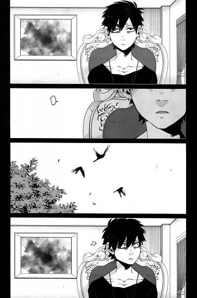 Tags: Anime, Kohsuke, GANGSTA., Nicholas Brown, Official Art, Mobile Wallpaper, Manga Page, Scan