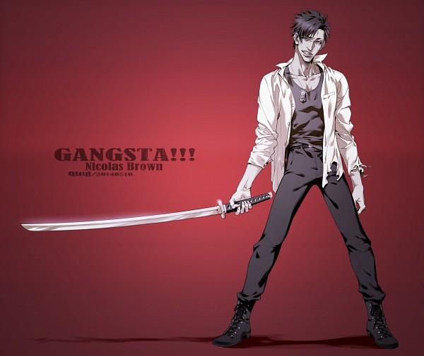 Tags: Anime, Pixiv Id 5916992, GANGSTA., Nicholas Brown, Fanart From Pixiv, Pixiv, Fanart