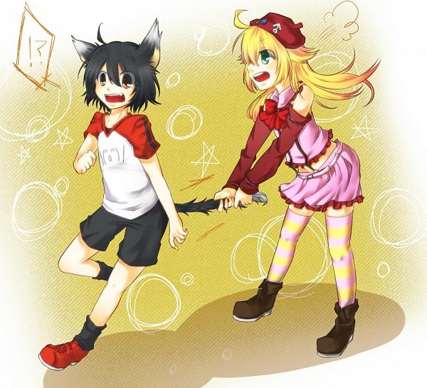 Tags: Anime, Byouna, Cosmo-tan, Owatan, Fanart, Nico Nico Douga, Pixiv