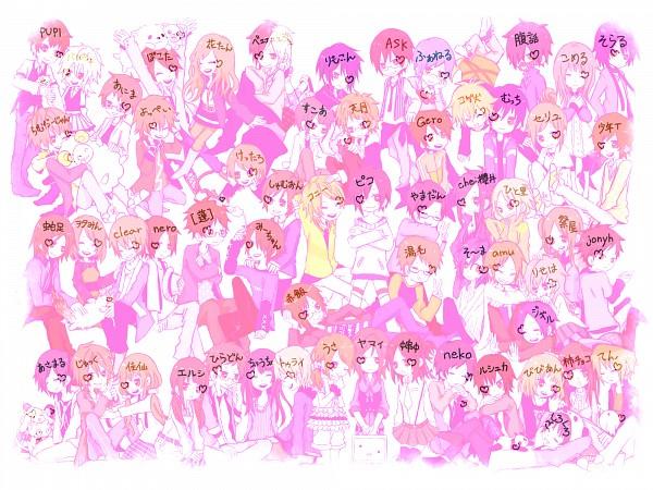Tags: Anime, Pixiv Id 737712, Pokota (Nico Nico Singer), Sekihan, Yamadan, Tourai, Jonyh, nero (Utaite), Vivienne, Choucho, Asamaru, Hanatan, Kettaro