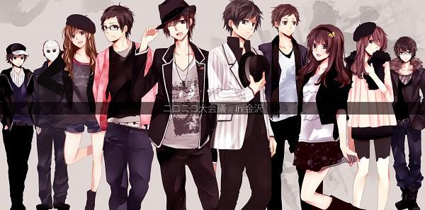 Tags: Anime, Hatsuko, LOLI.COM, Tightson, Puriko (Nico Nico Singer), nero (Utaite), Rap-bit, Gero, that, Choucho, Kettaro, Limone - Sensei, Fedora