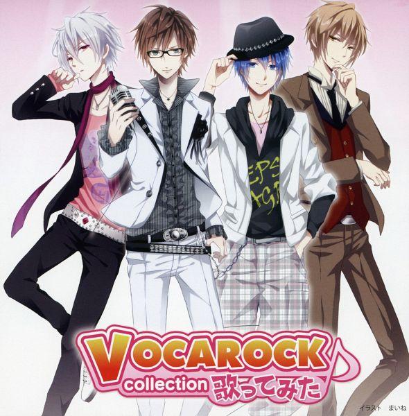 Tags: Anime, Maine, VOCALOID, Mafumafu, Mucchi, Anima (Nico Nico Singer), Ito Kashitaro, Scan, Vocarock, CD (Source), Nico Nico Singer