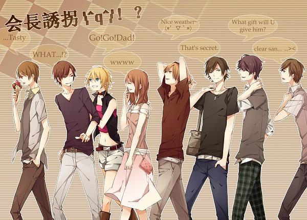 Tags: Anime, Himishiro, Dasoku, ShounenT, amu, VALSHE, Pokota (Nico Nico Singer), clear (Nico Nico Singer), Wotamin, nero (Utaite), Pushing, Walking Together, Nico Nico Douga