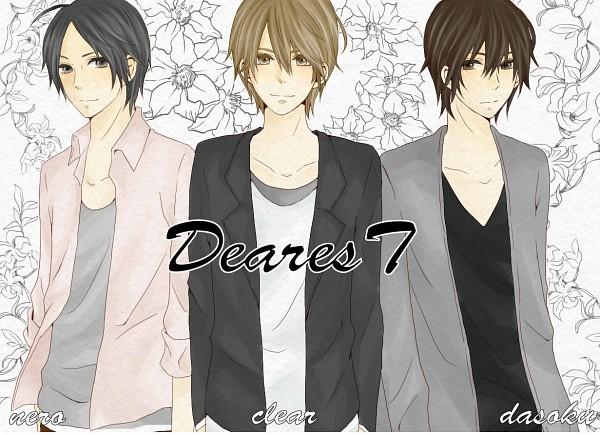 Tags: Anime, Miiko (Artist), clear (Nico Nico Singer), nero (Utaite), Dasoku, Dearest, Nico Nico Douga, Nico Nico Singer, Pixiv