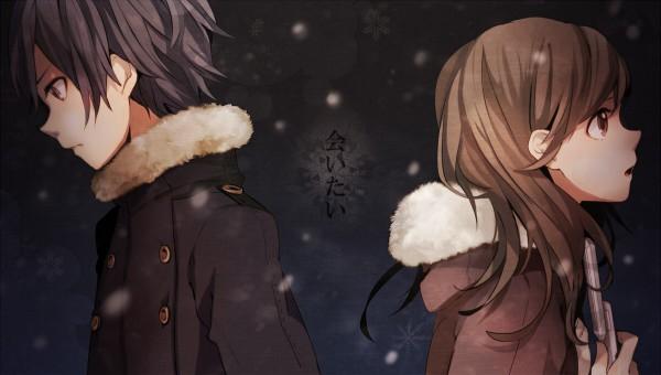 Tags: Anime, Tama Songe, Hanatan, Pokota (Nico Nico Singer), Nico Nico Douga, Nico Nico Singer, Aitai, Pixiv, Facebook Cover