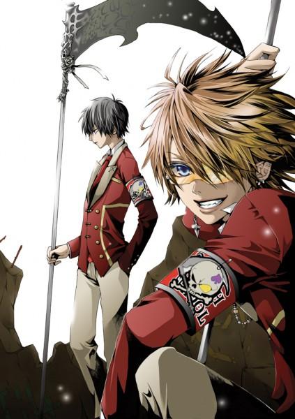 Tags: Anime, Hakuseki, Dasoku, Valshe, Shinigami, Mobile Wallpaper, Pixiv, Nico Nico Singer