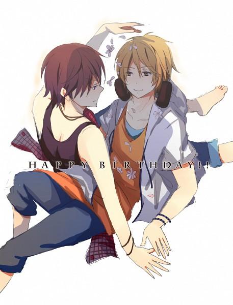 Tags: Anime, Pixiv Id 1061032, nero (Utaite), clear (Nico Nico Singer), Nico Nico Douga, Nico Nico Singer, Pixiv, Fanart