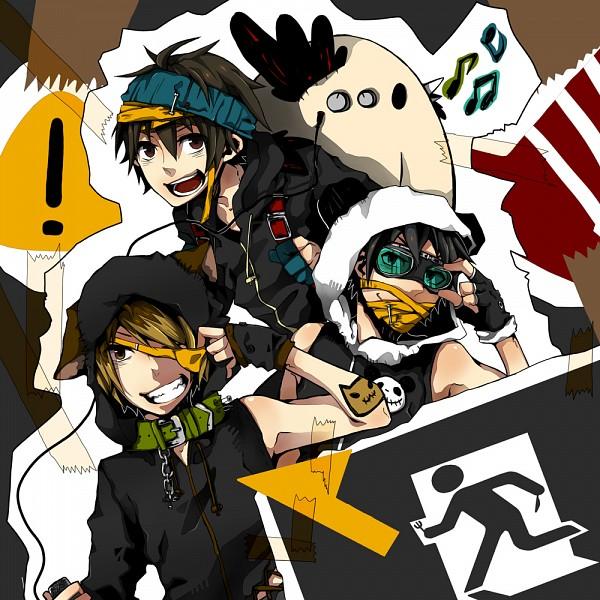 Tags: Anime, Pixiv Id 1405005, Shirokuro, Neko (Nico Nico Singer), Ten (Nico Nico Singer), Nico Nico Douga, Nico Nico Singer