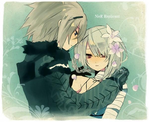 Tags: Anime, Pixiv Id 5054774, NieR, Nier (Character), Kaine, Fanart From Pixiv, Fanart, Pixiv