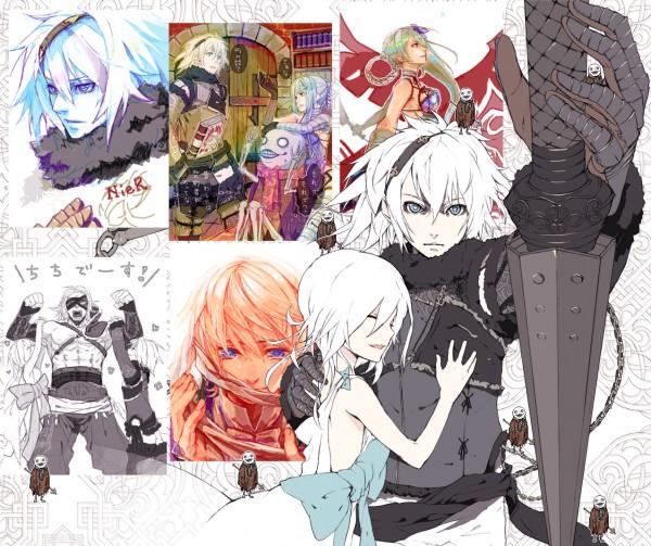 Tags: Anime, SQUARE ENIX, NieR, Emil (NieR), Nier (Character), Kaine