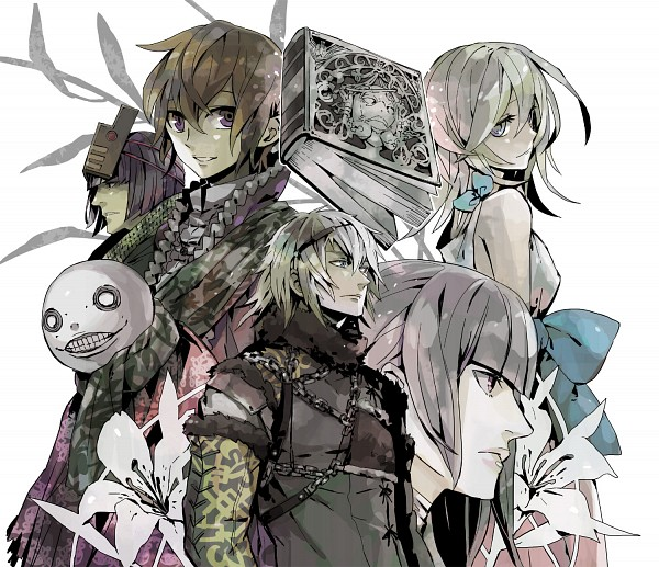 Tags: Anime, Ritsuko (Rittii), SQUARE ENIX, NieR, Nier (Character), King Of Facade, Kaine, Emil (NieR), Yonah, Grimoire Weiss, Fanart, Fanart From Pixiv, Pixiv