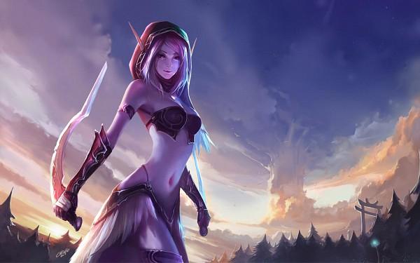 Night Elf - Warcraft