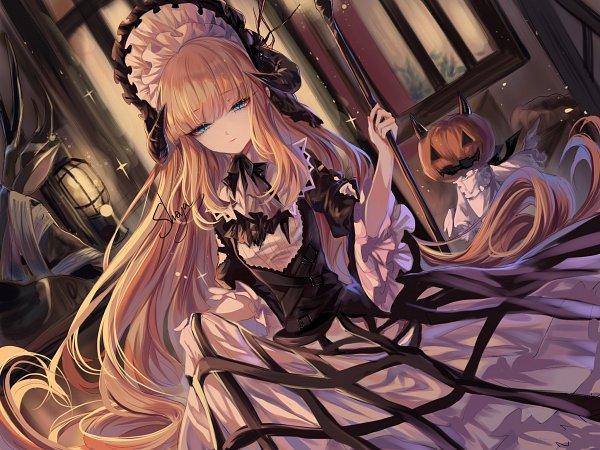 Tags: Anime, Sheya, Arknights, Nightingale (Arknights), Lolita Hat, Fanart, Fanart From Pixiv, Pixiv