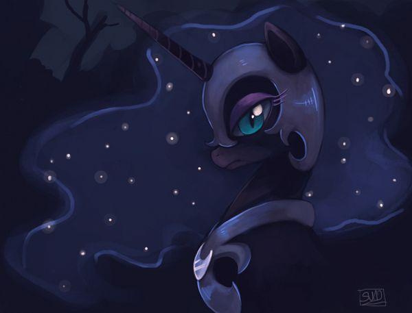 Tags: Anime, suikuzu, My Little Pony, Princess Luna, Nightmare Moon, deviantART, Fanart From DeviantART, Fanart